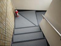 階段コーナー部完成写真