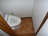 2階トイレ完成